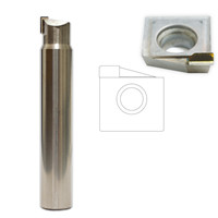 Mono crystal milling cutter