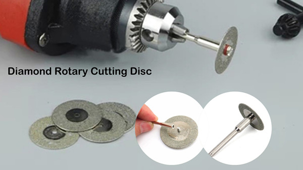 Diamond Rotary Cutting Disc For Cutting Gemstone, Glass, Stone