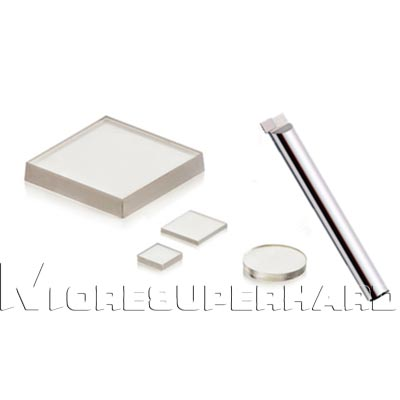 CVD synthetic diamond plates