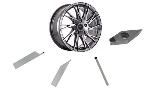 What PCD tools will be used for turning wheel hub car