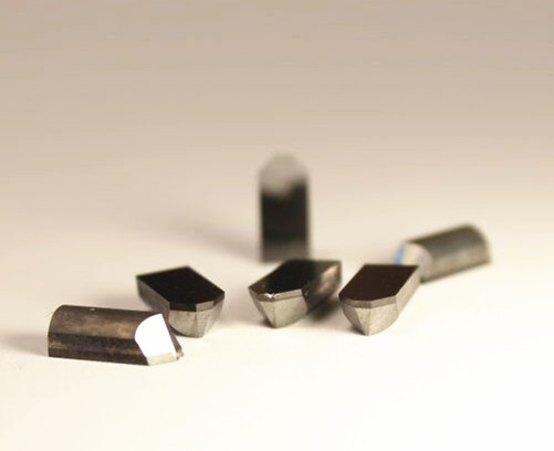 PCD tools for carbide roller notching