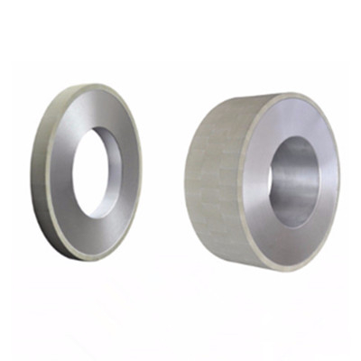 Vitrified diamond grinding wheels for PDC