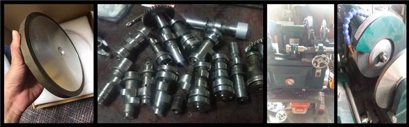 CBN grinding wheel for camshaft grinding