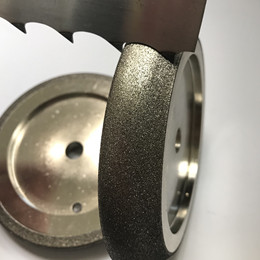 CBN grinding wheel for band saw sharpening