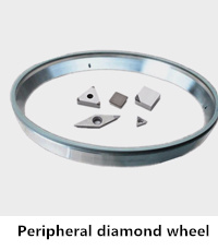 peripheral diamond wheel