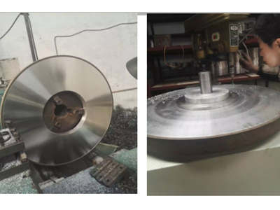 30 inch Resin Diamond Grinding Wheel For Thermal Spray Coating