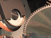 woodworking tool grinding