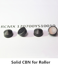 solid cbn inserts for roller