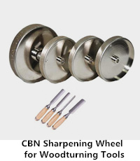 cbn sharpening wheel for woodturning tools