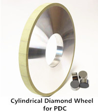 vitrified diamond grinding wheel for cylindrical grinding PDC
