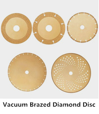 brazing diamond cutting disc