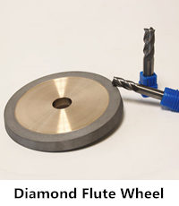 diamond flute grinding wheel for carbide tools