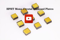 HPHT Mono Crystal Diamond Plates