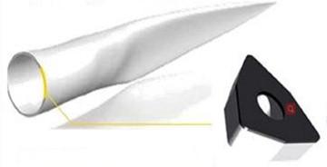 Wind turbine blades material