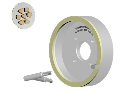 VITRIFIED DIAMOND WHEEL FOR PCD/ PCBN TOOLS