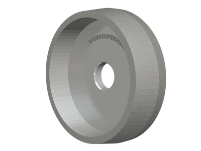 CYLINDRICAL PEEL GRINDING WHEEL